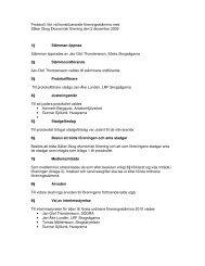 protokoll från stämman - Säker Skog
