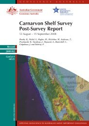Collection, analysis and publication of new data - Geoscience ...