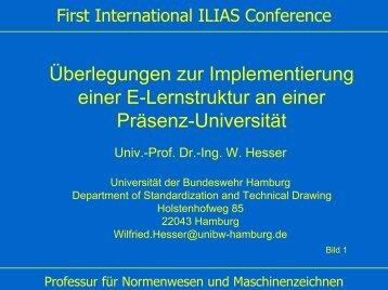 Professuren - Ilias
