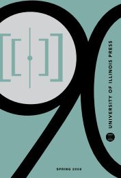 Spring 2008 - University of Illinois Press