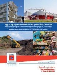Appel à projets - Ademe Ile de France