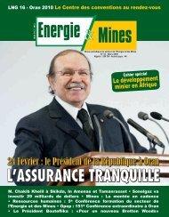 puits IKNO-1 - Ministère de l'énergie et des mines