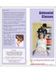 Antenatal Classes - Jerudong Park Medical Centre