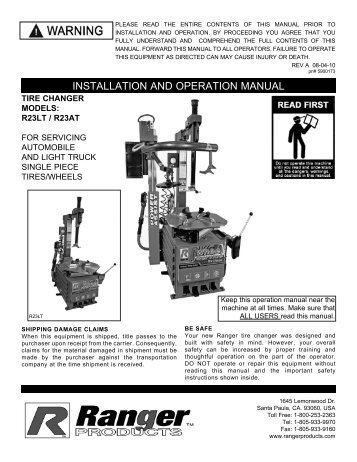 R23AT Manual Revised 06-10