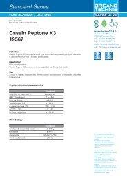 Standard Series Casein Peptone K3 19567 - TekniScience.com