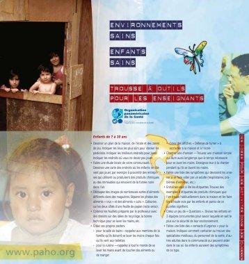 Environnements sains enfants sains - BVSDE