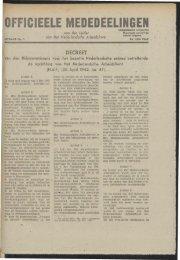 Arbeid (1942) officiele mededelingen - Vakbeweging in de oorlog