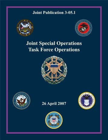 JP 3-05.1 Joint Special Operations Task Force Operations