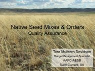 Native Seed Mixes & Orders