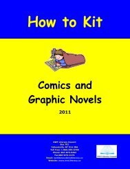 How to Kit - Comics and Graphic Novels 2011 - NWT Literacy Council