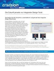 Die Zukunft jenseits nur integrierter Design Tools - Altium