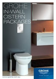 IN-WALL CISTERN PACKAGES - Southern Innovations