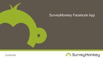 SurveyMonkey Facebook App