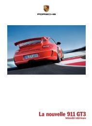 La nouvelle 911 GT3