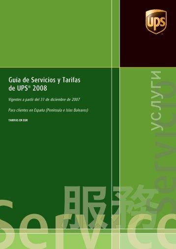 ups 2008 ST032 cover Es-es