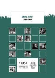 ANNUAL REPORT 2005-2006 - Civicus