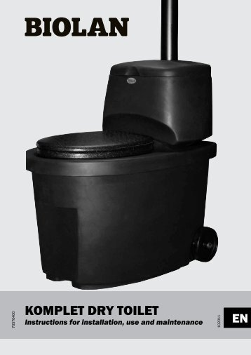 KOMPLET DRY TOILET - Biolan
