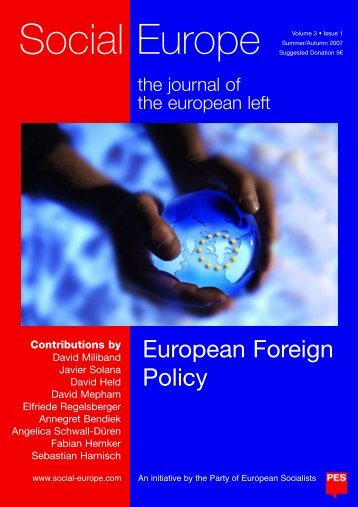 Social Europe. the journal of the european left Vol.3 Iss.1
