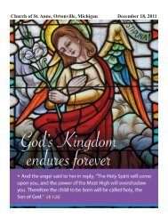 December 18, 2011 - St. Anne Catholic Church
