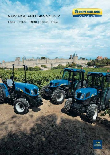 NEW HOLLAND T4OOOF/N/V