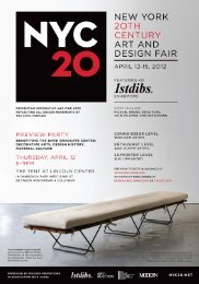 NEW YGRK 2OTI—I CENTURY ART AND DESIGN FAIR