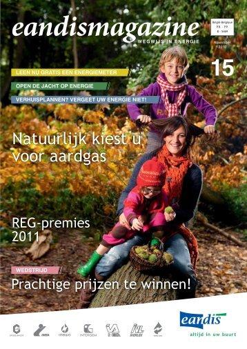 November 2010 - 'Natuurlijk kiest u voor aardgas' - Eandis