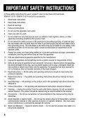 Inststruction Manual Instruction Manual Manuel d'instruction Manual ... - Page 4