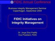 FIDIC Annual Conference