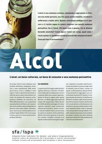 L'alcol: un bene culturale, un bene di consumo e una sostanza ...