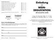 Wein-Degust.Einladung 2006.qxd - Ritter Weine AG