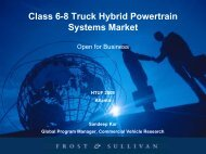 Class 6-8 Truck Hybrid Powertrain Systems Market - EMI Global