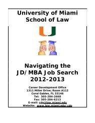 Best Small Companies - University of Miami - School of Law