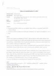 Zápis z 10. zasedání komise 27. 5. 2013 - Praha 9