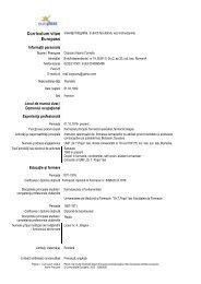 CV Ileana Cojocaru - Gr.T. Popa