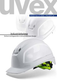 uvex Arbeitsschutz Katalog Kopfschutz 2011/2012