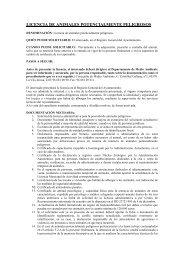 licencia de animales potencialmente peligrosos - Villajoyosa