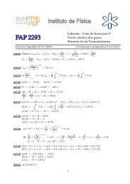 Gabarito – Lista de Exercıcios 9 Teoria cinética dos gases ... - Plato