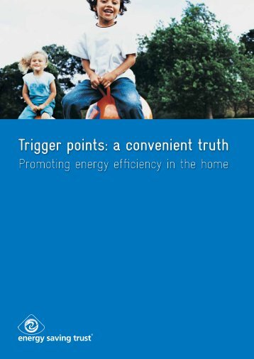 Trigger points - Energy Saving Trust