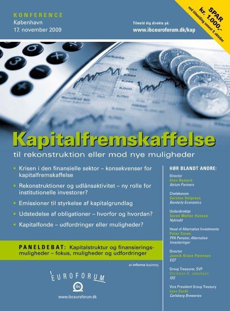 Kapitalfremskaffelse - IBC Euroforum