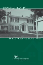 Financial Planning for a Home of Your Own - American Pharmacists ...