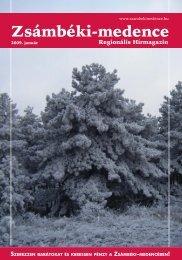 2009 JANUÁR PDF-ben letölthető (1,7 MB) - Zsámbéki-medence