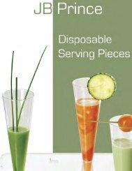 Disposable Serving Pieces - JB Prince