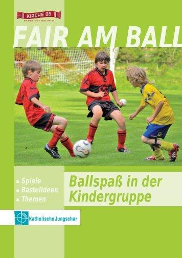 Ballspaß in der Kindergruppe - Katholische Jungschar
