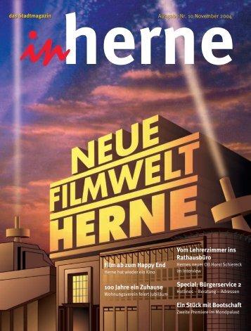 Film ab zum Happy End 100 Jahre ein Zuhause Vom ... - Stadt Herne