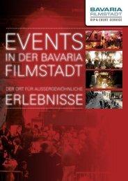 VIP Broschüre 3-2012 - Bavaria Film Event - Bavaria Filmstadt