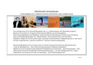 EBERHARD WAGEMANN - Entrepreneurship.de