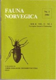 R. B OL. 31 O. 1 - Norsk entomologisk forening