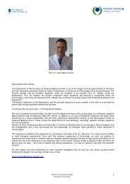 Prof. Dr. med. Martin Scholz - Klinikum Duisburg
