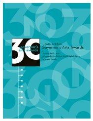 30th Annual Governor's Arts Award - Nevada Arts Council