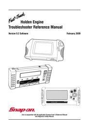 Holden VZ 3 6L PIM & ECM - Reset & Link     - Snap-on Australia
